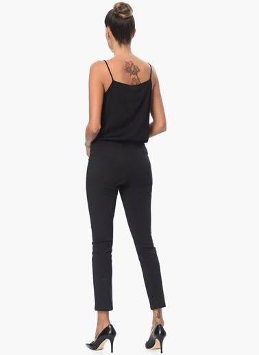 NetWork Askılı Bluz Siyah